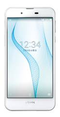 SHARP AQUOS L2 ホワイト